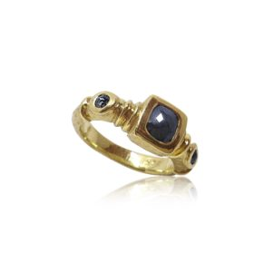 Tuscana Gold Ring Praschnik Fine Jewelry Design Miami