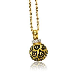 Cheetah Pendant Fine Jewelry Design