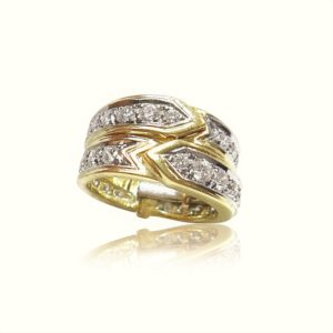 Unique Fine Jewelry Ring Design by Praschnik Fine Jewelers Miami