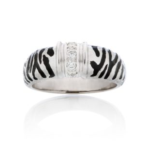 Zebra Ring Design