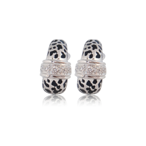 Cheetah Earring Fine Jewelry Design