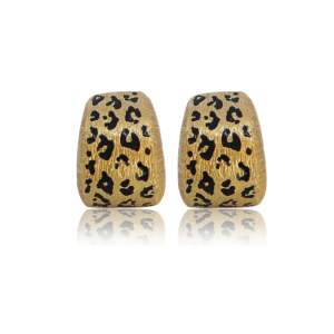 Cheetah Earring Fine Jewelry Design Miami